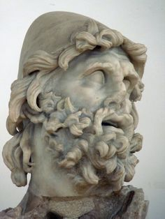 Head of Odysseus,  I century  b.C. / Sperlonga, Museo Archeologico Nazionale