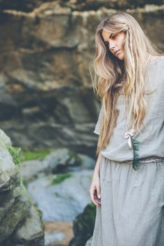INTO THE WILD - Ema Tesse  OOTD summer campaign -Boho Style - naturelovers - gypsea - beach lifestyle