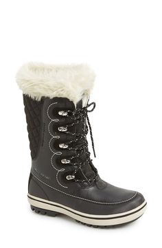 Totes Gracie Women's Quilted Waterproof Winter Duck Boots   Shoes ... : quilted winter boots - Adamdwight.com