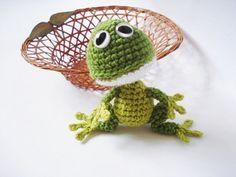 Muster, Amigurumi Frog Pattern, häkeln Frog Pattern, Spielzeug Muster, Amigurumi Animal, Tutorial
