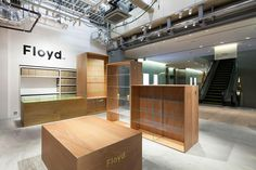 Jo Nagasaka /Schemata Architects, Floyd Shop, Tokyo, 2013