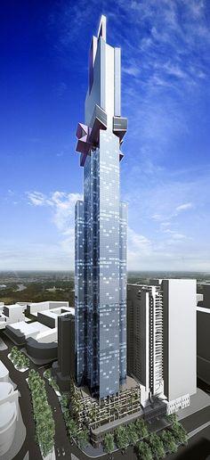 O Australia 108 será o edifício mais alto do Hemisfério Sul!