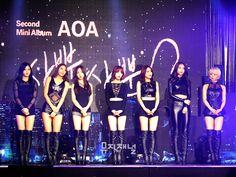 141110 AOA 사뿐사뿐 쇼케이스 #AOA #Kpop #Showcase