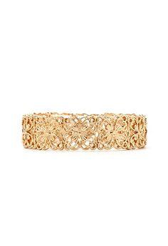 Filigree Flower Stretch Bracelet | Forever 21 - 1000151173