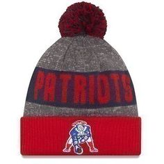 The Official Patriots ProShop Mobile | Youth New Era 2016 Throwback On Field Knit Hat