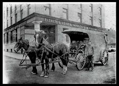 Heaney Cartage Wagon on Wharf Street, Victoria Victoria City, Victoria Vancouver Island, Victoria British Columbia, Victorian London, Historical Photos, Photo S, The Past, History, Street