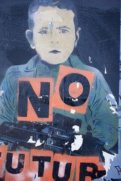 Street Art - No Future
