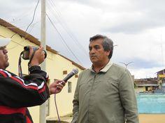 Jefe de Mantenimiento de la EPS SEDACAJ S.A. declarando para la prensa cajamarquina