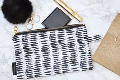 Vegan Makeup Bag, Large Makeup Bag, Linoleum Flooring, Makeup Pouch, Silk Screen Printing, Craft Fairs, Carving, Make Up, Trending Outfits