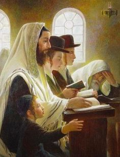 Jewish Synagogue-beautiful painting