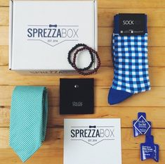 Business Insider rates SprezzaBox as the top men's fashion subscription, along with Birchbox Man and Trunk Club. SprezzaBox collaborates with killer new brands to bring you 4-6 items each month for $28.
