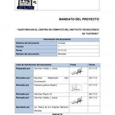 """EVEREST MANDATO DEL PROYECTO """"AUDITORIA EN EL CENTRO DE CÓMPUTO DEL INSTITUTO TECNOLÓGICO DE TUXTEPEC"""" Información del documento Sistema del documento Inici. http://slidehot.com/resources/mandato-equipo-5.52973/"""