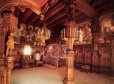 Lichtenstein Castle Inside | Neuschwanstein Castle Interior