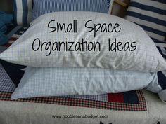 small space organization ideas