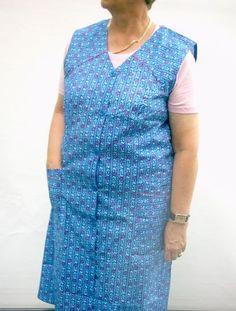 Kittel - ich sehe meine Oma direkt vor mir :-) im Sommer wurde er als Kleid getragen :-D