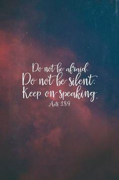 Do not be afraid. #christian #bible #verse #jesus