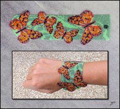 Blue Butterflies by *Ellygator
