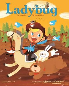 Ladybug Magazine for Kids February 2016 digital magazine - Read the digital edition by Magzter on your iPad, iPhone, Android, Tablet Devices, Windows 8, PC, Mac and the Web.