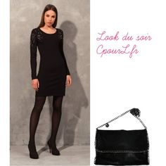 "Robe Odemai - Sac Vimoda ""Look du soir CpourL"" by cpourl on Polyvore"