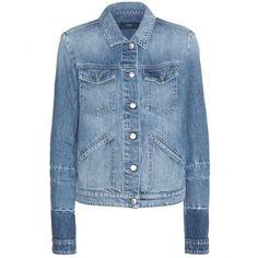 Closed Denim Jacket ($260) ❤ liked on Polyvore