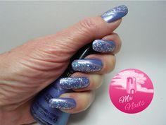 Glitter Swiped Blueberry Nails                   http://ma-nails.co.uk/glitter-swiped-blueberry-nails/