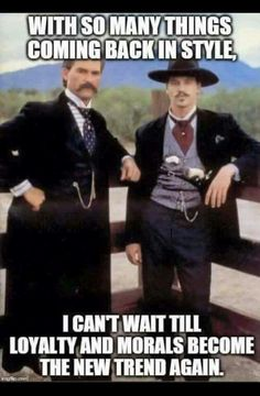 Kurt Russell and Val Kilmer