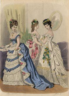 Le Monde Elégant 1874