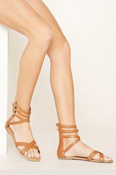 PEDIDOS SOLO POR #ENCARGO Código: F-51 Caged Faux Leather Sandals Color: Camel Talla: 6-7-8-9-10 Precio:₡21.500 ($39,67)  Whatsapp ☎8963-3317, escribir al inbox o maya.boutique@hotmail.com  Envíos a todo el país. #MayaBoutiqueCR ❤