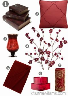 decorating with the 2014 colors   ... Williams: Home Decor Trend Fall 2013: How to Decorate with Burgundy