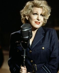 Bette Midler... I love her as a singer, as an actress, as a comic. She's an all around entertainer.