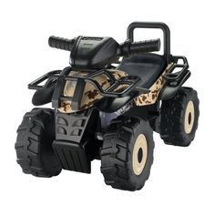 The rugged and durable Honda Brown HD Camo Utility ATV is an officially licensed Honda product featuring the uniquely realistic Honda Phantom camo pattern printed all four fenders. Press the 3 light-up dash buttons to hear the original song, talking phras Kids Ride On Toys, Toys For Boys, Kids Toys, Honda Phantom, Kids Atv, Toy Wagon, Outdoor Fun For Kids, Atv Riding, Camo Patterns