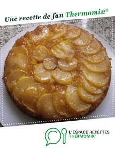 Gâteau renversé aux poires par 64christine. Une recette de fan à retrouver dans la catégorie Pâtisseries sucrées sur www.espace-recettes.fr, de Thermomix®.