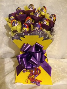 Creme egg bouquet