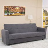 Leader Lifestyle Jensen Willow Grey Fabric Sofa Bed with Storage Sofa Bed Uk, Bedroom Sofa, Sleeper Sofa, Sofas, Buy Sofa Online, Sofa Italia, Sofa Bed With Storage, Italian Sofa, Retro Sofa