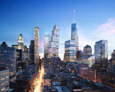 BIG substitui Foster no projeto para o 2 World Trade Center,© DBOX, Cortesia de BIG