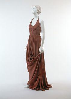 Evening dress Edward Molyneux  Date: 1949 Culture: French Medium: estron, rayon Accession Number: C.I.50.21.12