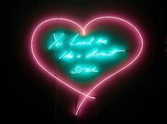 artnet Galleries: You Loved Me Like a Distant Star by Tracey Emin from Lehmann Maupin