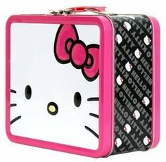 Hello Kitty Giant Face Lunchbox by Loungefly by Hello Kitty. $14.55. Hello Kitty metal lunch box.. Save 19%!