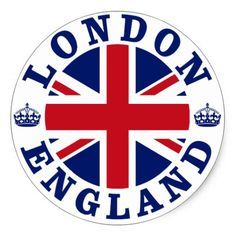Shop London England British Flag Roundel Ceramic Ornament created by unionjack. Comic Cat, Etiquette Vintage, Vintage London, London Calling, National Flag, Grafik Design, Union Jack, Nottingham, London England
