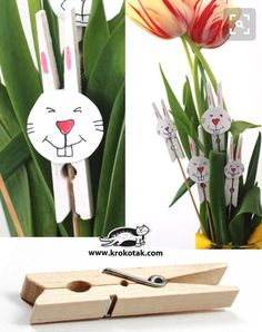 Fully comfortable: crafts with children! 9 simple craft ideas for Easter! - DIY craft ideas Source b Cute Easter Bunny, Easter Art, Hoppy Easter, Bunny Crafts, Easter Crafts For Kids, Easter Ideas, Spring Crafts, Holiday Crafts, Easter Projects