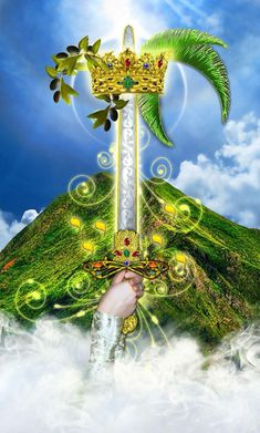 Ace of swords. As d'épées - Tarot Illuminati par Erik Dunne Illuminati, Ace Of Swords, Sword Of Truth, Oracle Tarot, Archangel Michael, Fortune Telling, Major Arcana, Book Gifts, Tarot Decks