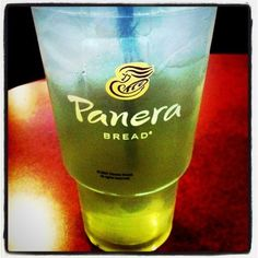 Panera Bread Iced Green Tea - My favorite!