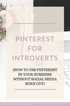 Pinterest.I was a fan from the moment it launched. I haven't really been doing anything active on Pinterest for YEARS apart from look up recipes and tattoo ideas. But that all changed when I realised I could be using it for my business in a super introvert-friendly way. Business Articles, Business Tips, Introvert Problems, Extroverted Introvert, Business Writing, Social Media Engagement, I Work Out, Online Marketing, Media Marketing