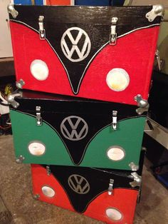 Love these VW storage boxes!!!