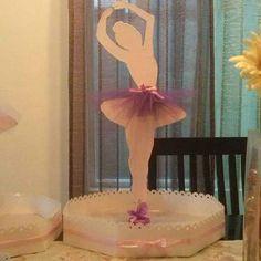 Bailarina centro de mesa.