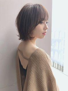 大人ショート 初めてでも安心ショートボブ in 2020 Corte Bob, Japanese Beauty, Short Cuts, Hair Today, Short Hair Styles, Hair Makeup, Hair Cuts, Make Up, Hairstyle