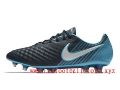 203b10b86ca9 Nike Magista Opus II Chaussure de football à crampons pour terrain sec Pour  Homme Bleu Noir