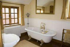 Colore pareti bagno - Bagno classico con pareti beidge