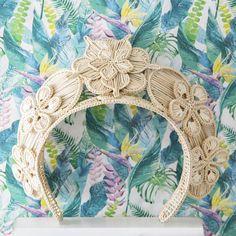 Natural Bouquet, Macrame Design, Bridal Hair Accessories, Headgear, Headbands, Hand Weaving, Decorative Boxes, Jewels, Headpieces