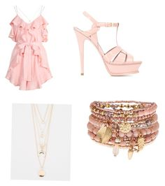 """""""The theme for this outfit is Romantic"""" by explorer-14571046578 on Polyvore featuring Alice McCall, Yves Saint Laurent, Full Tilt and Accessorize"""